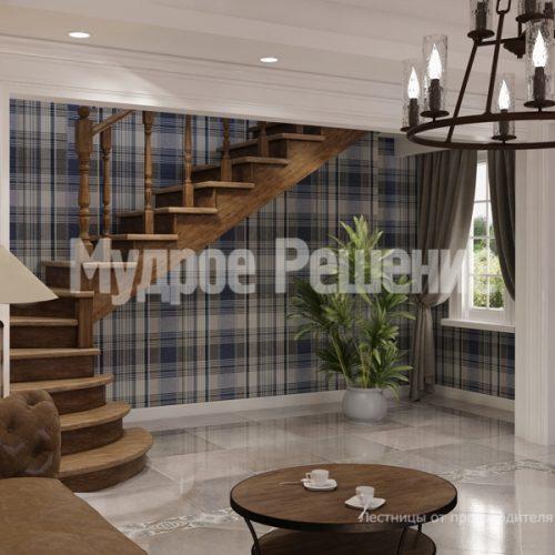 Деревянная лестница-3