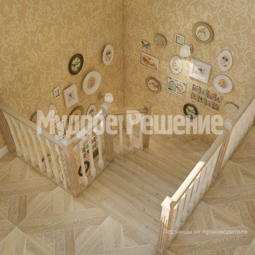 Деревянная лестница-4