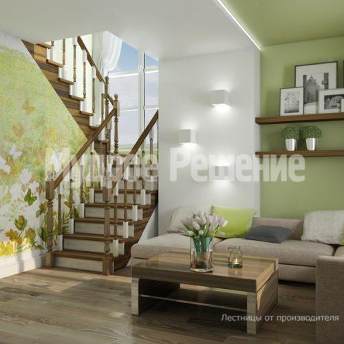 Металлическая лестница-4