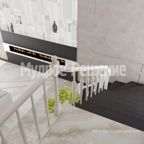 Металлическая лестница-5