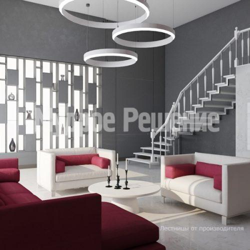 Металлическая лестница-6