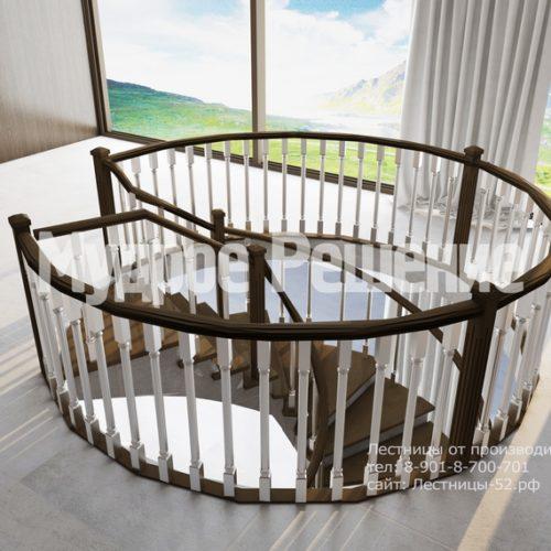 лестница из бетона модель 2 вид 5