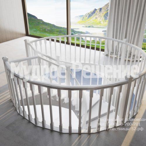 бетонная лестница модель 1 вид 5