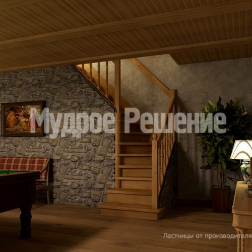Бетонная лестница-7