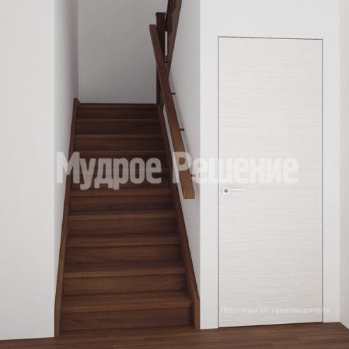 Деревянная лестница-12