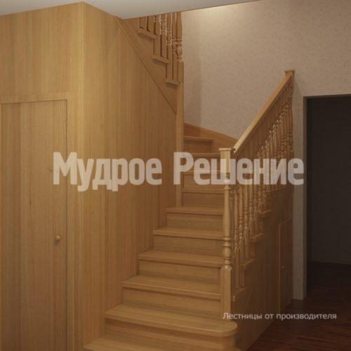 Деревянная лестница-15
