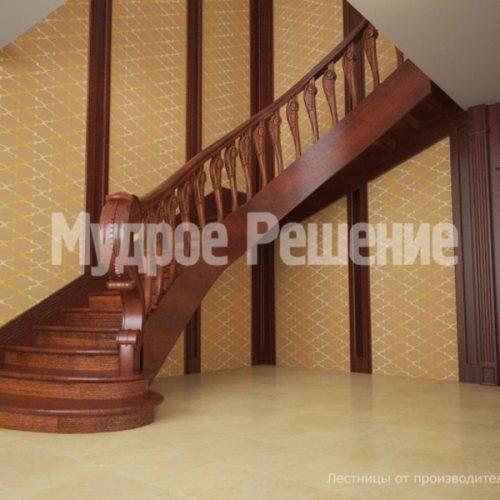 Деревянная лестница-23