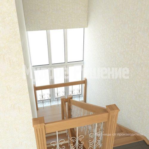 Деревянная лестница-28