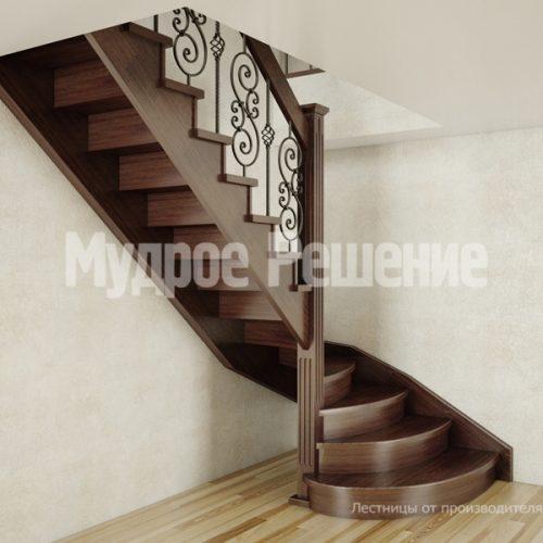Деревянная лестница-31