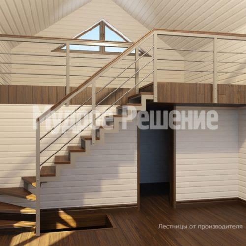 Металлическая лестница-7