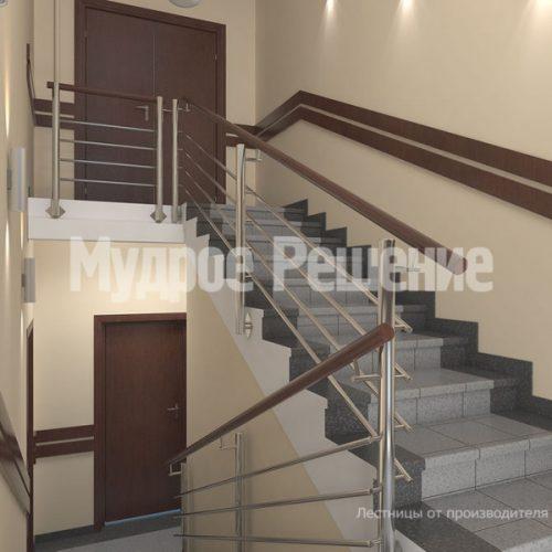 Бетонная лестница-13