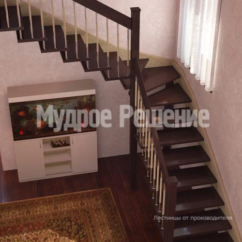 Лестница на больцах-10