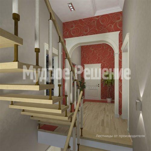 Лестница на больцах-14