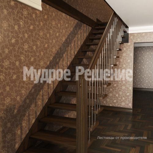 Лестница на больцах-5