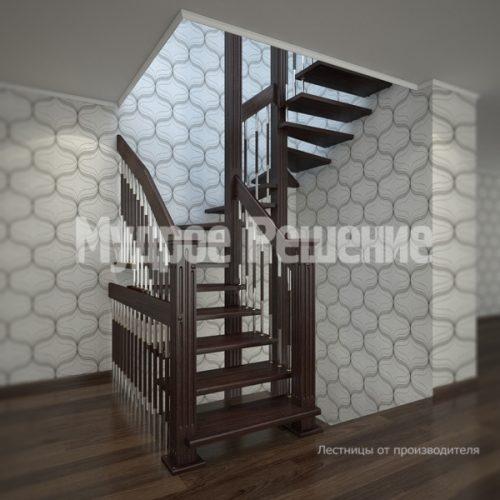 Лестница на больцах-7