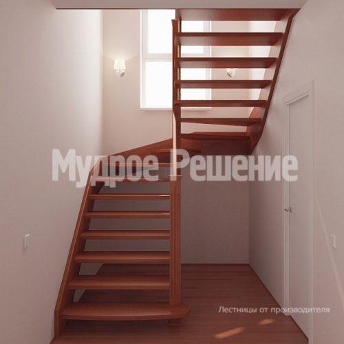 Лестница на больцах-8