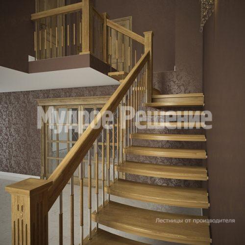 Лестница на больцах-9