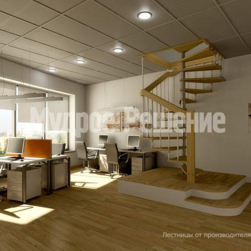 Винтовая лестница-11