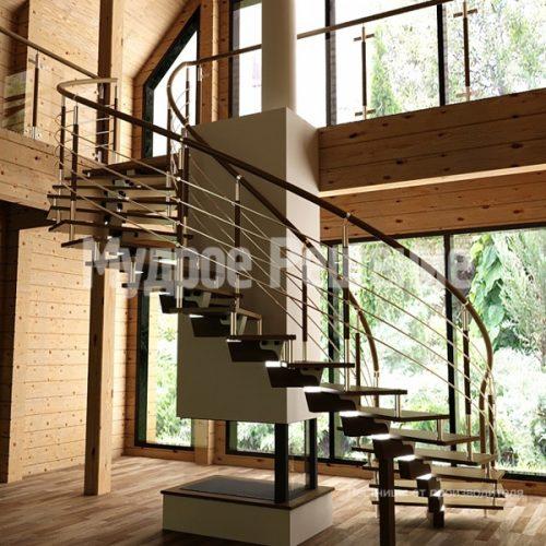 Винтовая лестница-12
