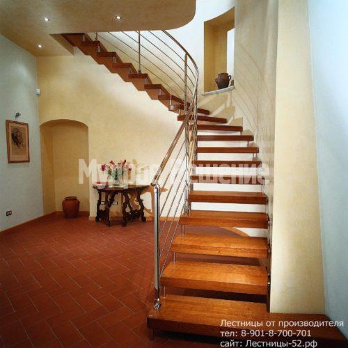 Консольная лестница на второй этаж
