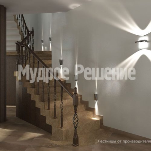 Бетонная лестница-16