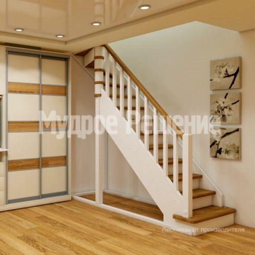 Деревянная лестница-51