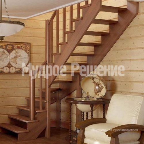 Деревянная лестница-61