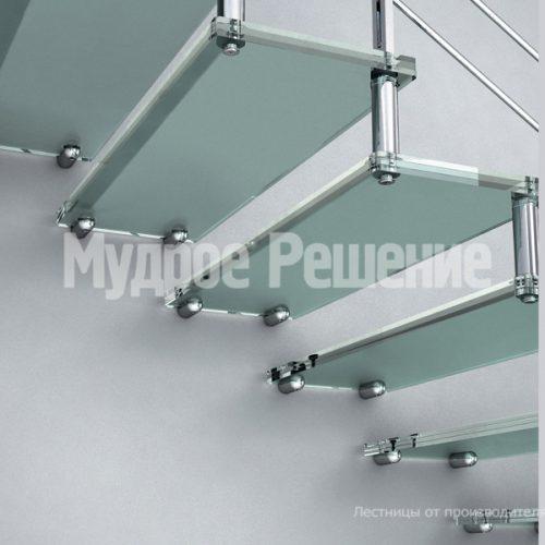 Лестница на больцах-16