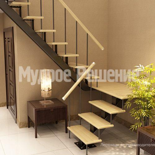 Металлическая лестница-13