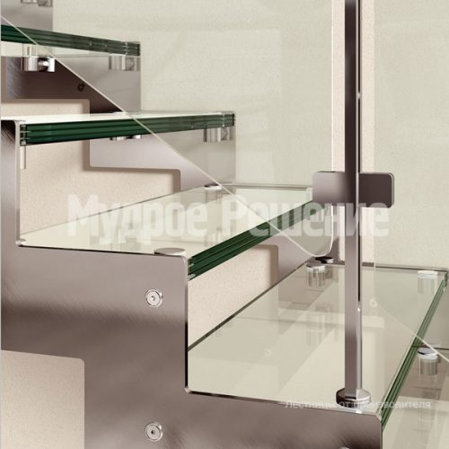 Металлическая лестница-16