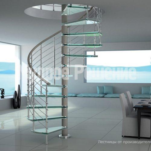 Винтовая лестница-15