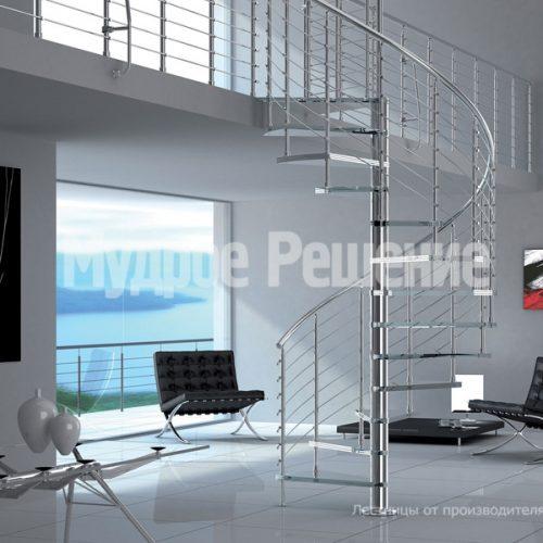 Винтовая лестница-16