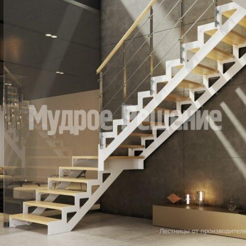 Металлическая лестница-24