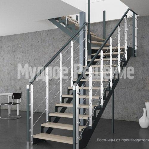 Металлическая лестница-25
