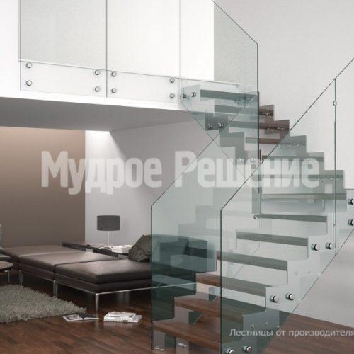 Металлическая лестница-26