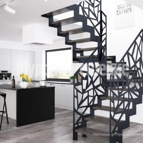 Металлическая лестница-29
