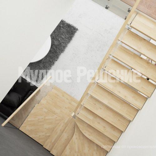 Металлическая лестница-32