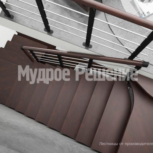 Металлическая лестница-33