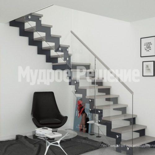 Металлическая лестница-34