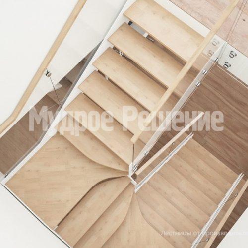 Металлическая лестница-38