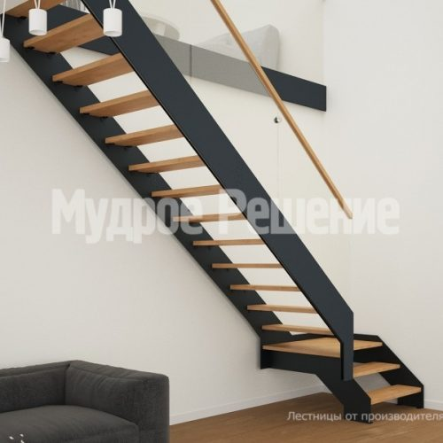 Металлическая лестница-42