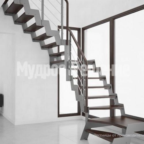 Металлическая лестница-44