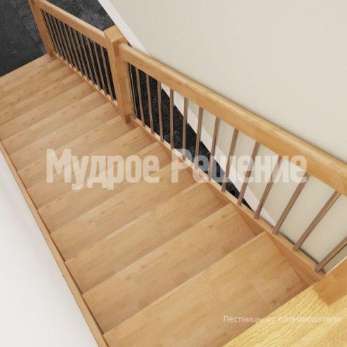 Деревянная лестница-69