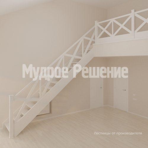Деревянная лестница-71