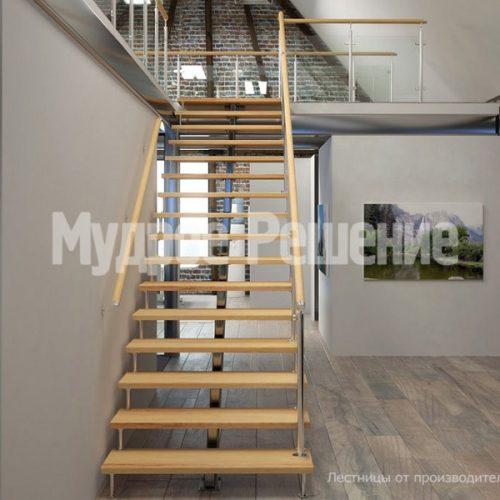 Металлическая лестница-47