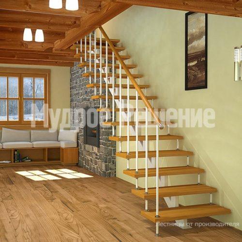 Металлическая лестница-49
