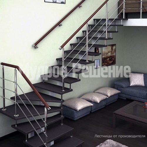 Металлическая лестница-51