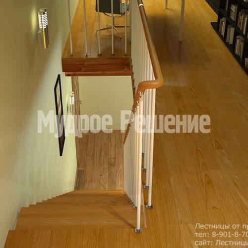 Светлая лестница на монокосуаре 2