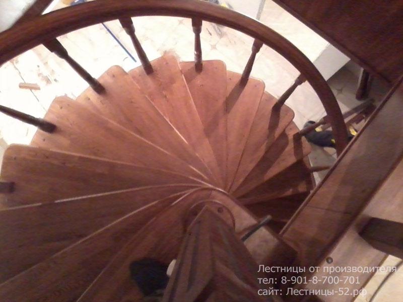 Фото винтовой лестницы в Кстовском районе