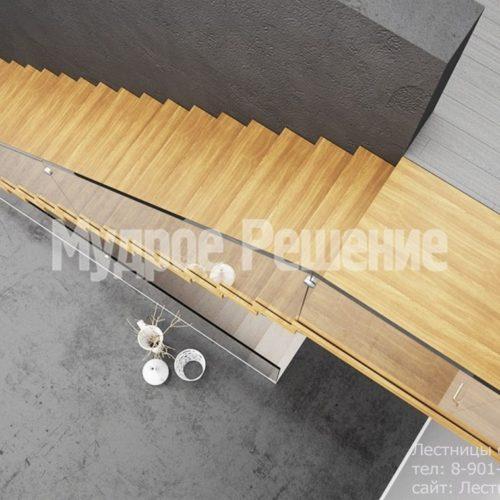 Прямая консольная лестница 2